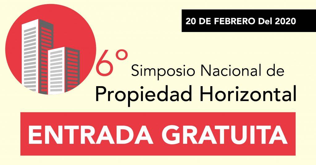 6to Simposio Nacional de Propiedad Horizontal